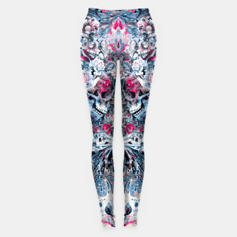 Thumbnail image of Twin Skull Leggings, Live Heroes