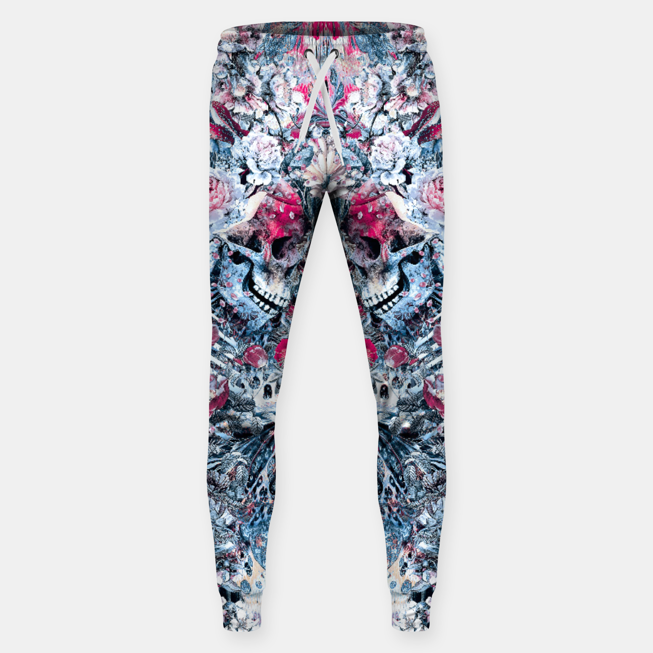 Image of Twin Skull Sweatpants - Live Heroes