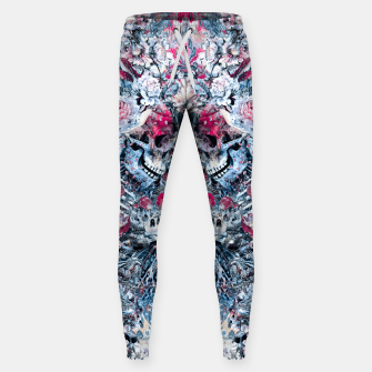 Thumbnail image of Twin Skull Sweatpants, Live Heroes