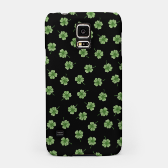 Thumbnail image of Dark Green Clover Samsung Case, Live Heroes