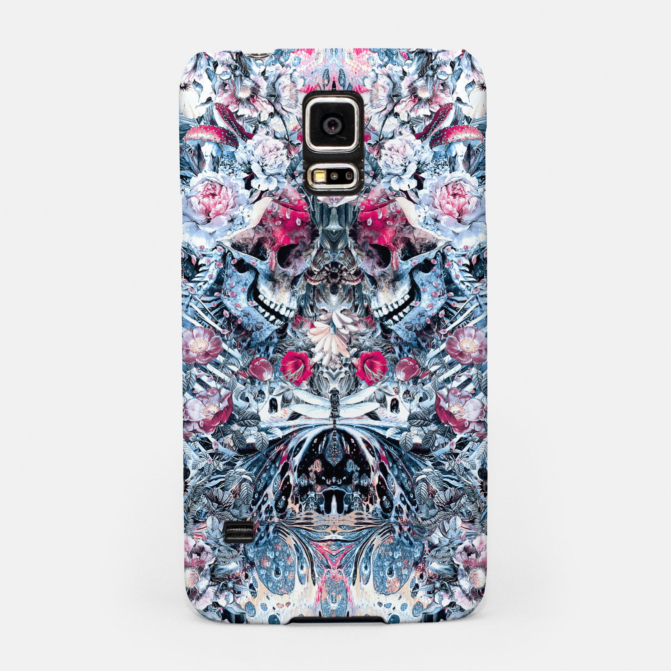 Foto Twin Skull Samsung Case - Live Heroes