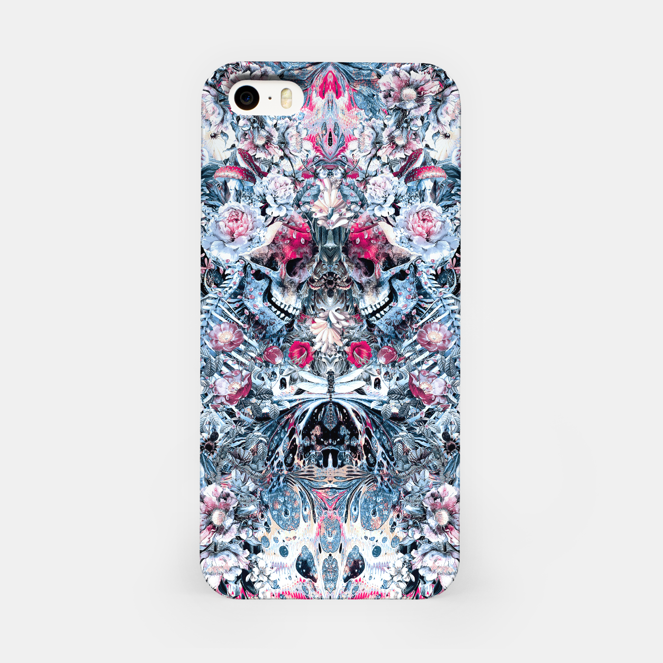 Image of Twin Skull iPhone Case - Live Heroes