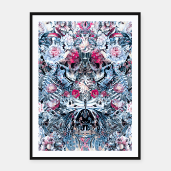Twin Skull Framed poster miniature