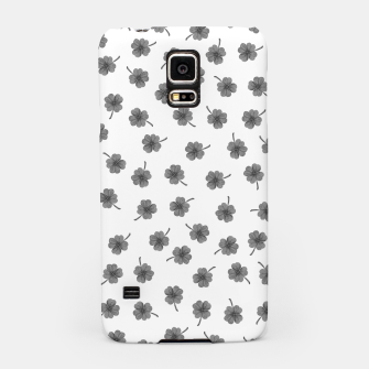 Thumbnail image of Light Gray Clover Samsung Case, Live Heroes
