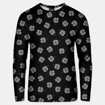 Thumbnail image of Dark Gray Clover Unisex sweater, Live Heroes