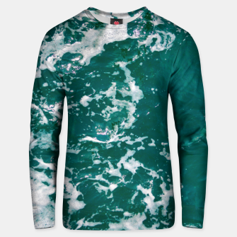 Thumbnail image of Emerald waters Unisex sweater, Live Heroes