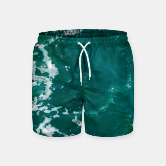 Thumbnail image of Emerald waters Swim Shorts, Live Heroes