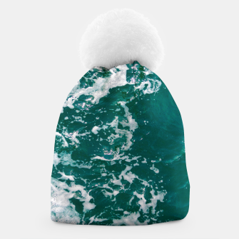 Thumbnail image of Emerald waters Beanie, Live Heroes