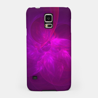 Miniaturka Magenta Illusion Abstract Fractal Art Design Samsung Case, Live Heroes