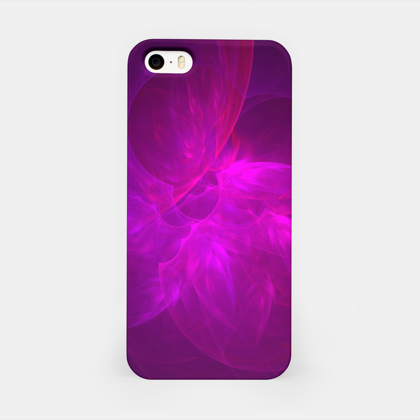 Zdjęcie Magenta Illusion Abstract Fractal Art Design iPhone Case - Live Heroes