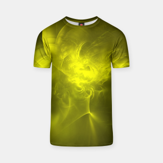 Miniaturka Electromagnetic Abstract Fractal Art Design T-shirt, Live Heroes