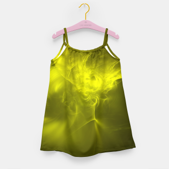 Miniaturka Electromagnetic Abstract Fractal Art Design Girl's dress, Live Heroes