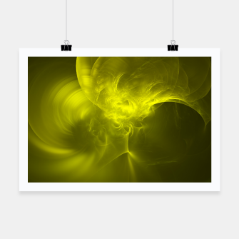 Miniaturka Electromagnetic Abstract Fractal Art Design Poster, Live Heroes