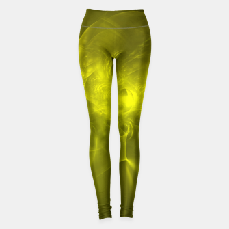 Miniaturka Electromagnetic Abstract Fractal Art Design Leggings, Live Heroes