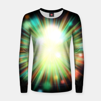 Thumbnail image of Rays Of Light - 01 Women sweater, Live Heroes