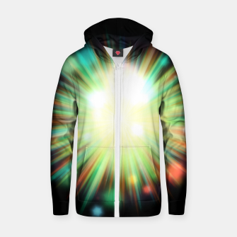 Thumbnail image of Rays Of Light - 01 Zip up hoodie, Live Heroes