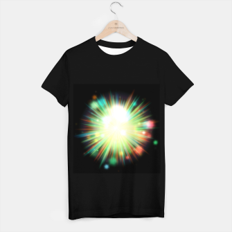 Thumbnail image of Rays Of Light - 01 T-shirt regular, Live Heroes