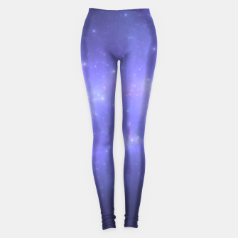 Thumbnail image of Visions of the Stars Abstract Fractal Art Design Leggings, Live Heroes