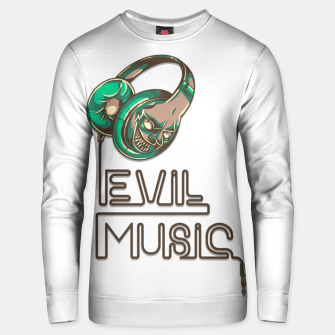 Thumbnail image of EVIL MUSIC. Unisex sweater, Live Heroes