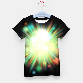 Thumbnail image of Rays Of Light - 01 Kid's t-shirt, Live Heroes