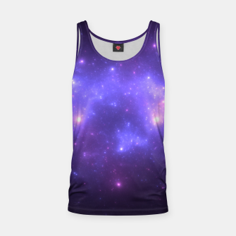 Miniatur Take me back to the stars Abstract Fractal Art Design Tank Top, Live Heroes