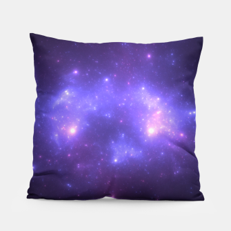 Miniatur Take me back to the stars Abstract Fractal Art Design Pillow, Live Heroes