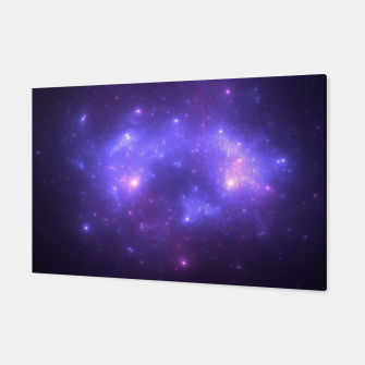 Miniatur Take me back to the stars Abstract Fractal Art Design Canvas, Live Heroes
