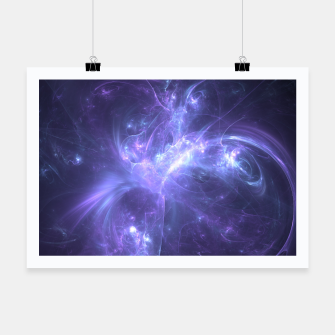 Thumbnail image of Stellar Explaosion Abstract Fractal Art Design Poster, Live Heroes