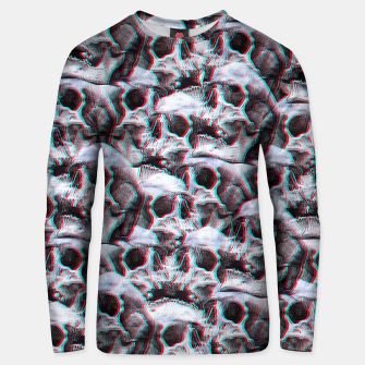 Thumbnail image of Glitch Skull Sweater, Live Heroes