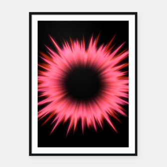 Thumbnail image of Rays Of Light - 02 Framed poster, Live Heroes