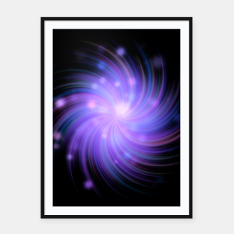 Thumbnail image of Rays Of Light - 04 Framed poster, Live Heroes