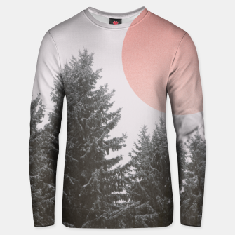 Thumbnail image of Winter trees Unisex sweater, Live Heroes