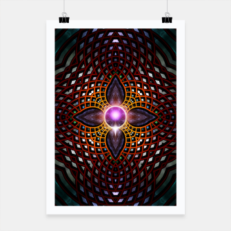 Thumbnail image of Orb Star Mesh Poster, Live Heroes