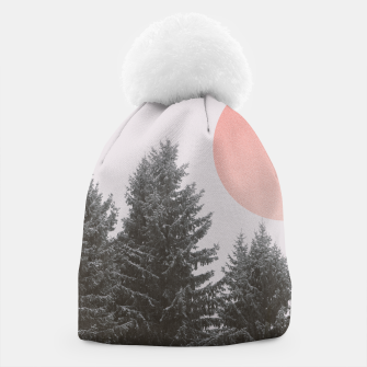 Miniatur Winter trees Beanie, Live Heroes