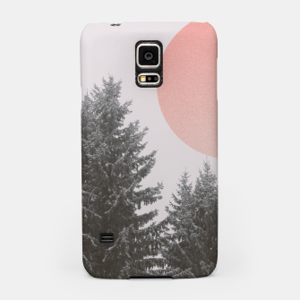 Miniatur Winter trees Samsung Case, Live Heroes