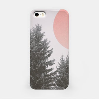 Miniatur Winter trees iPhone Case, Live Heroes