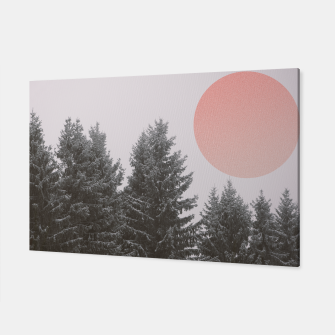Miniatur Winter trees Canvas, Live Heroes