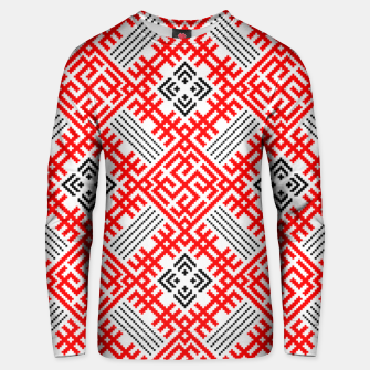 Thumbnail image of Rodimich - Antlers - Slavic Symbol #4 Unisex sweater, Live Heroes