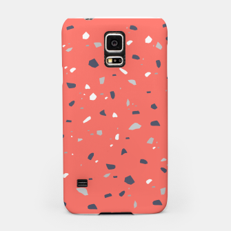 Thumbnail image of Living Coral Terrazzo #1 #decor #art  Handyhülle für Samsung, Live Heroes