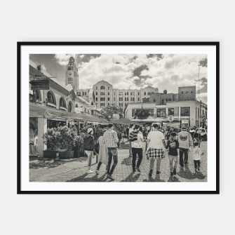 Thumbnail image of Mercado del Puerto, Montevideo, Uruguay Framed poster, Live Heroes