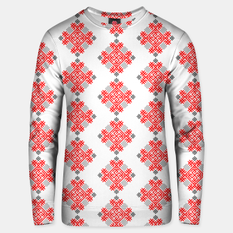 Thumbnail image of Rodimich - Antlers - Slavic Symbol #2 Unisex sweater, Live Heroes