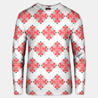 Thumbnail image of Rodimich - Antlers - Slavic Symbol #3 Unisex sweater, Live Heroes