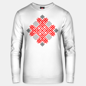 Thumbnail image of Rodimich - Antlers - Slavic Symbol #1 Unisex sweater, Live Heroes