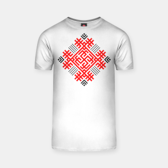Miniatur Rodimich - Antlers - Slavic Symbol #1 T-shirt, Live Heroes