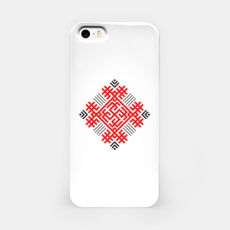 Miniatur Rodimich - Antlers - Slavic Symbol #1 iPhone Case, Live Heroes