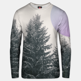 Thumbnail image of Winter trees 2 Unisex sweater, Live Heroes
