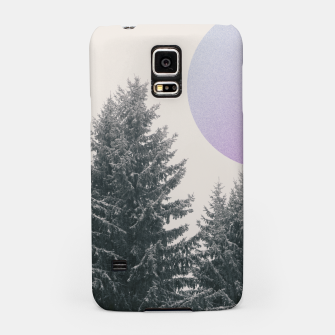 Miniatur Winter trees 2 Samsung Case, Live Heroes