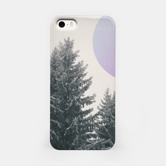 Miniatur Winter trees 2 iPhone Case, Live Heroes