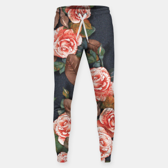 Thumbnail image of Blooming of living coral roses Sweatpants, Live Heroes