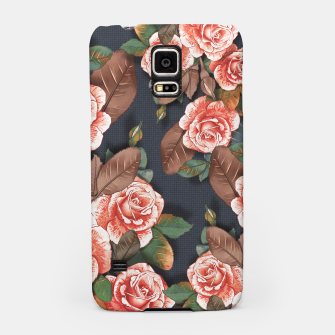Thumbnail image of Blooming of living coral roses Samsung Case, Live Heroes